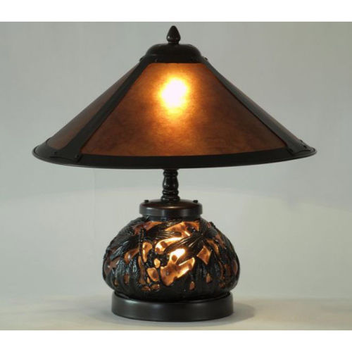 Vintage dragonfly table lamp with lighted base glass for Antique floor lamp lighted base