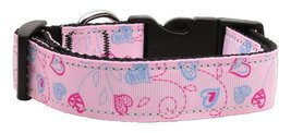 Dog Collars and Leashes - Crazy Hearts Nylon Co... - $8.82