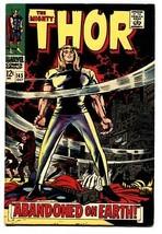 MIGHTY THOR #145 comic book 1967-MARVEL COMIC-JACK KIRBY-VF+ - $90.79