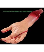 Realistic Life Size Bloody GORY SEVERED ARM HAND Body Part Halloween Hor... - $9.87