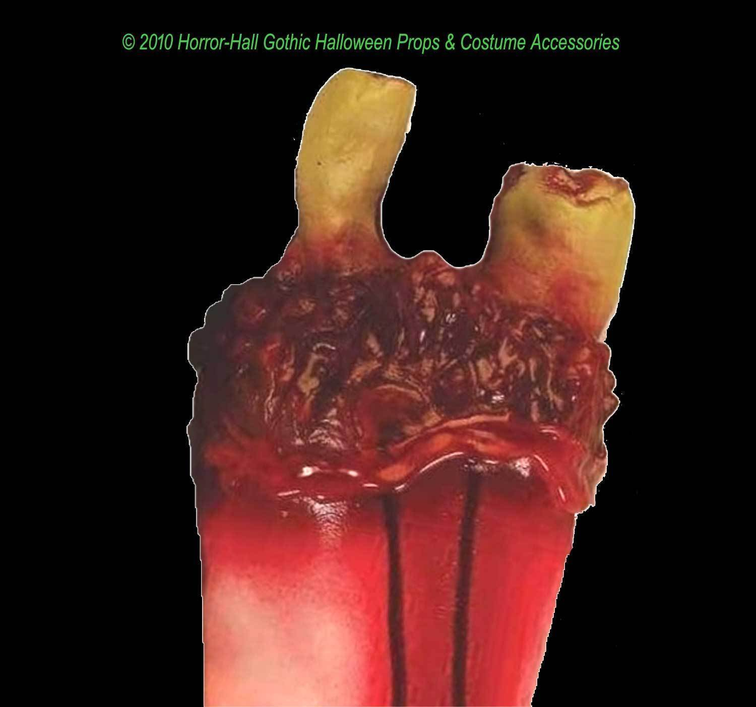 Realistic Life Size Bloody GORY SEVERED ARM HAND Body Part Halloween Horror Prop