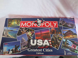 Usaopoly Usa Greatest Cities Monopoly - $40.00