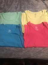 4 girls new and nwot tank tops size 14/16 - $6.00