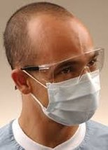 CROSSTEX ISOFLUID EARLOOP MASK Mask, Latex Free, Blue, 50/bx, 10 bx/ctn - $112.21