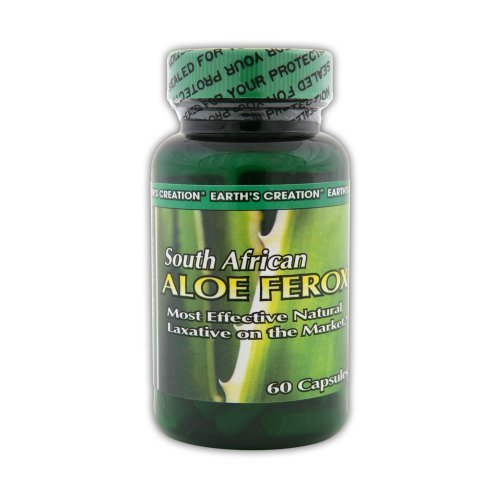 Earth's Creation South African Aloe Ferox, 60 Capsules