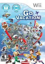 Go Vacation - Nintendo Wii Video Game Family Fun - $29.99