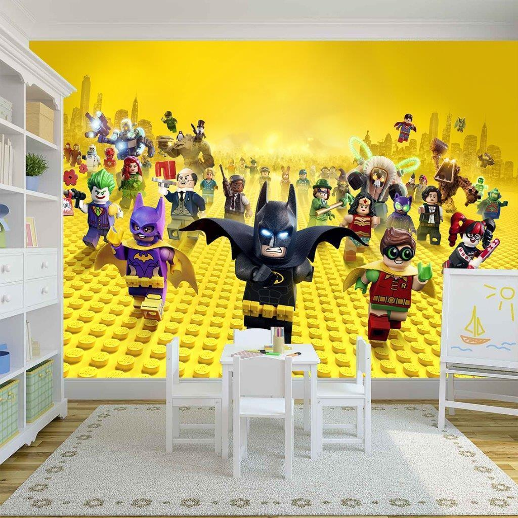 Lego Batman Photo Wallpaper Woven and 50 similar items