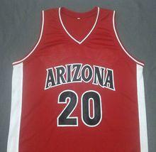Damon Stoudamire Arizona Wildcats Red College Jersey Any Size Free Wwjd Bracelet - $29.99