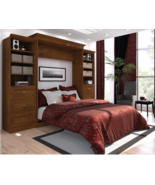 Brown Fold Away Wall Mounted Guest Wallbed Hide... - $3,798.95