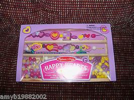 Melissa & Doug Happy Hearts Bead Set NEW - $21.36