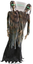 Twitching Corpse Animated Halloween Prop Lifesize Animated 6 Feet Haunte... - £93.14 GBP