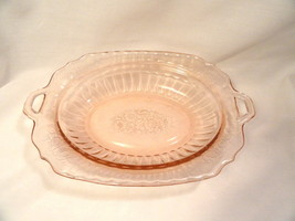Pink Mayfair Oval Bowl Depression Glass by Hocking MINT - $12.49