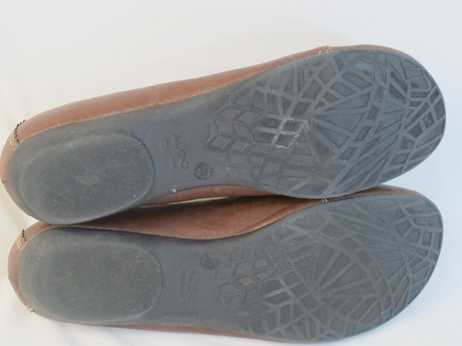 ALDO Brown Loafer Flats 9 M US Excellent Condition EUR 40