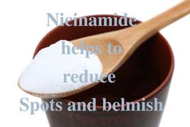 1 oz / 30 gr. Niacinamide Vitamin B3, skin whitener - $4.40