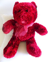 "Dan-Dee Christmas Teddy Bear/16"" tall/13"" wide - $8.86"