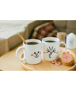 LINE Friends CONY Two Face Mug Cup Naver App Character Home Living Gift ... - $27.01