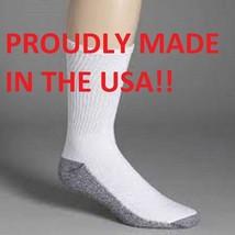 Dickies Men's Original Work Socks 4 Pair Made In The USA Mens Work Socks - $12.86
