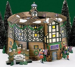 Department 56 Old Globe Theatre Set of 4 Historical Landmark Series - $195.00