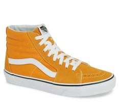 Vans SK8 Hi Dark Cheddar/True White Mens Classic Skate Shoes - £46.15 GBP