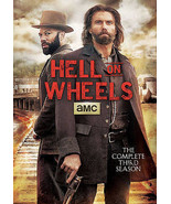 Hell on wheels season 3 DVD new with anson mount western - $32.66