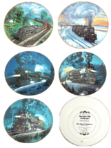 Train Collector Plate Knowles The Romantic Age of Steam Historic Railways - $59.95