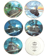 Train Collector Plate Knowles The Romantic Age of Steam Historic Railways - $55.36