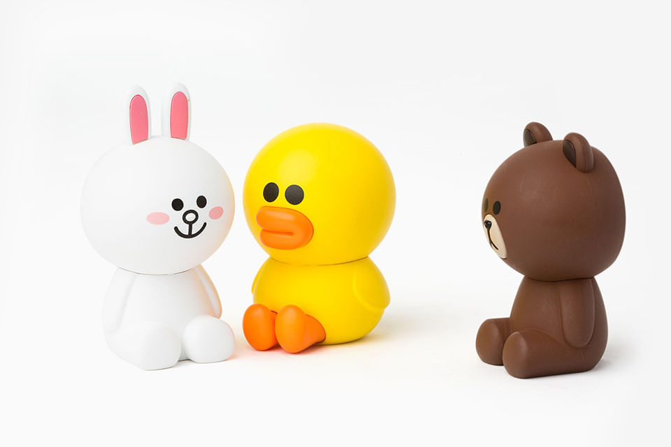 LINE Friends Car Clip Air Freshener Character Figure BROWN, CONY, SALLY Deco Acc