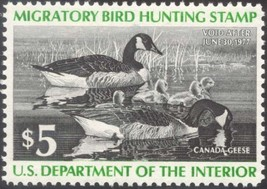 RW43, Canada Geese DUCK STAMP VF OG NH - LOW PRICE! - $7.50