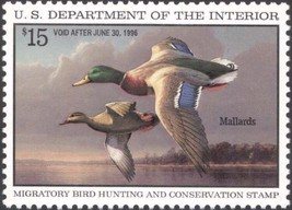 RW62, Mallards Federal DUCK Stamp VF NH - Stuart Katz - $19.95