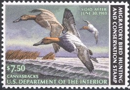 RW49, DUCK STAMP VF OG NH - LOW PRICE! - $9.00