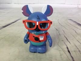 Disney Vinylmation Theme Park Favorites Series Stitch Nerd Designer Figure - $15.83
