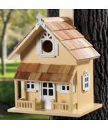 Rustic Decorative Wooden Backyard Garden Bird H... - $69.95