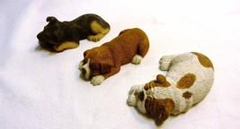 Sandicast Original Dog Figurines Lot of Three S... - $34.98