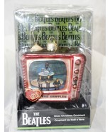 "New Kurt S. Adler Beatles ""Love Me Do"" Glass TV Ornament  - $19.13"