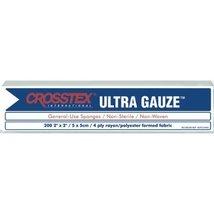 "CROSSTEX ULTRA GAUZE NON WOVEN SPONGES 2"" x 2"", Sponge, 4 Ply, Non Steri... - $87.22"
