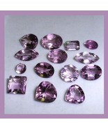 14.10ctw 14 AMETHYST Oval Heart Marquise Square Pear Round Emerald Gemst... - $19.99