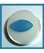 7.50ct ROYAL BLUE CHALCEDONY Marquise Checkerboard Faceted Natural Gemstone - $22.99