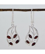 attractive Garnet 925 Sterling Silver Red genuine jaipur CA gift - $16.96