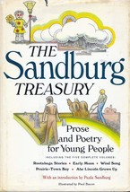 Sandburg Treasury by Carl Sandburg Prose and Poetry for Young People - $3.58