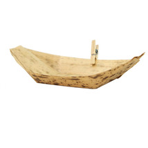 Eco Friendly 4 x 2 x 1 Inch Bamboo Leaf Boat/Case of 2000 - $623.31 CAD
