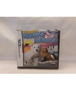 Paws & Claws: Marine Rescue (Nintendo DS, 2011) With Case & Manual Nice - $8.03
