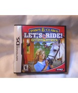 Nintendo DS DSi Dsi XL PAWS & CLAWS LET'S RIDE Friends Forever  Game Hos... - $16.81