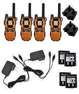 4 Weatherproof Two Way Radio Walkie Talkie Walk... - $249.95