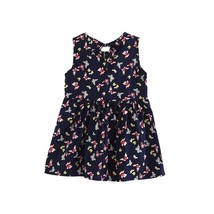 (as picture size 3T)2017 New Infant Kids Girls Child A-line Dress Sleeve... - $20.00
