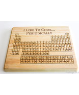 Personalized Cutting Board Wood Periodic Table ... - $27.00