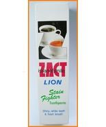 160g. ZACT LION TOOTHPASTE SHINY WHITE TEETH FRESH BREATH - $8.32