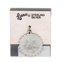 VINTAGE BEAU BEAUCRAFT STERLING SILVER BRIDESMAID CHARM - €9,56 EUR