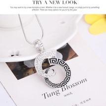 Women Wedding Bridal Jewelry Set Rhinestone Necklace Earrings HIGH QUALITY image 5