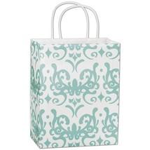 Classicality Aqua Shoppers Gift Bags, 25 pack - $20.50