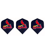 ST LOUIS CARDINALS MLB Baseball Standard Dart Flights 1 set of 3 Flights - $3.95